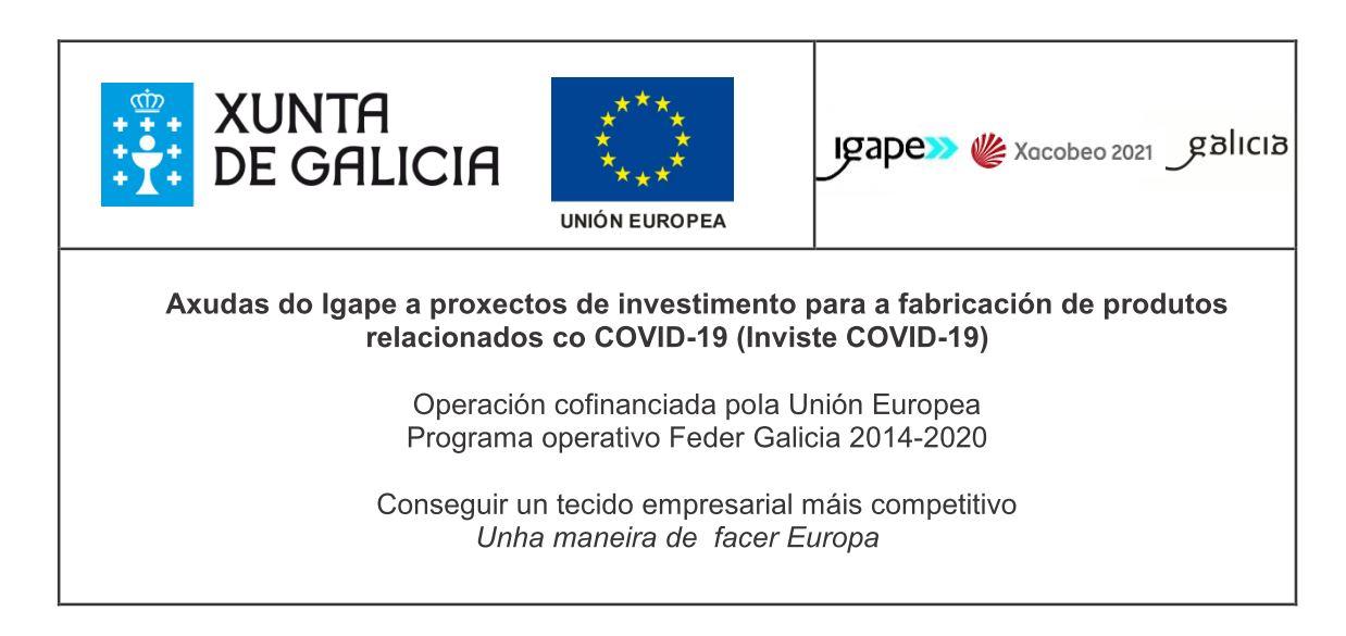 Axudas IGAPE fabricación produtos COVID19